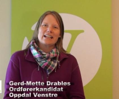 video:gerdmette drabls oppdal venstre