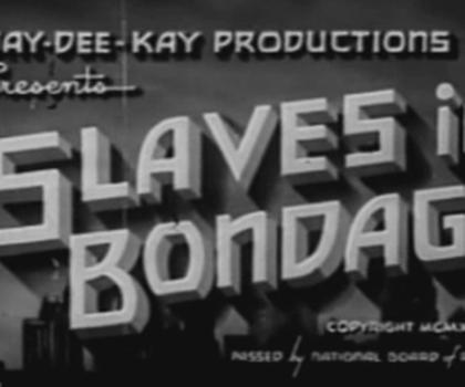 video:slaves in bontage